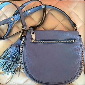 REAL Blue Rebecca Minkoff Skylar Crossbody